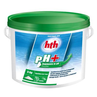 1 Hth pH Plus en poudre 5kg pour augmenter le pH