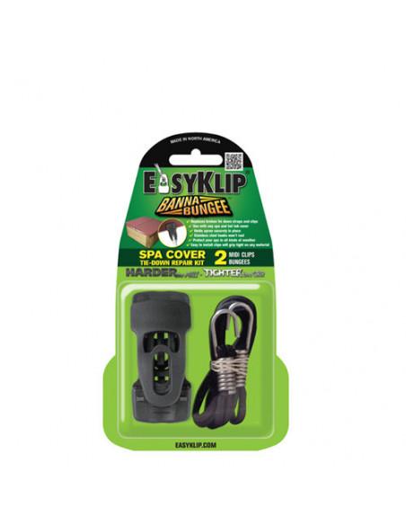 2 EasyKlip : Attaches Clips pour bache et housse spa