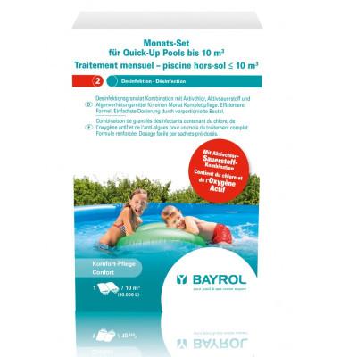 1 Traitement mensuel pour piscine hors sol jusqu à 10m3