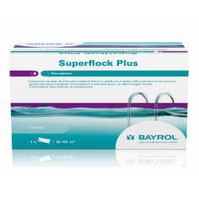 1 Superflock plus floculant spécial filtres à sable