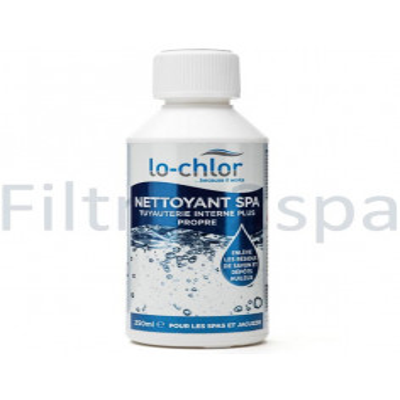 1 Nettoyant tuyauterie spa Lo chlor