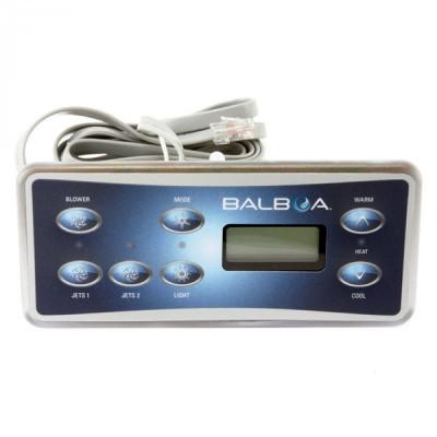 1 Clavier de commande Balboa VL701S (2 pompes avec Blower)