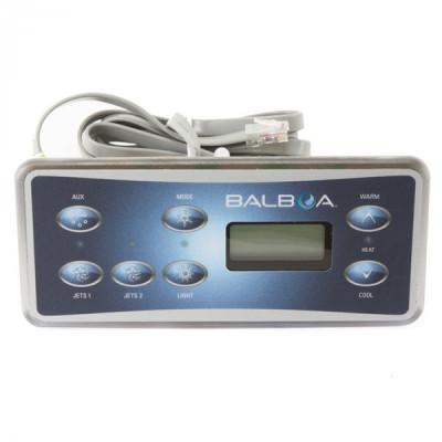 1 Clavier de commandes Balboa VL701S (2 Pompes avec Aux)