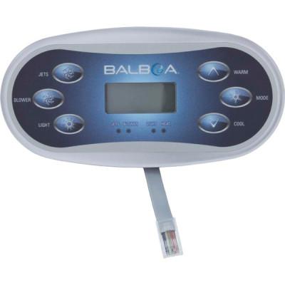 1 Clavier de commande Balboa VL600S (1 Pompe)