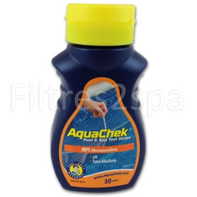 1 Aquachek Monopersulfate - Analyse de loxygène actif