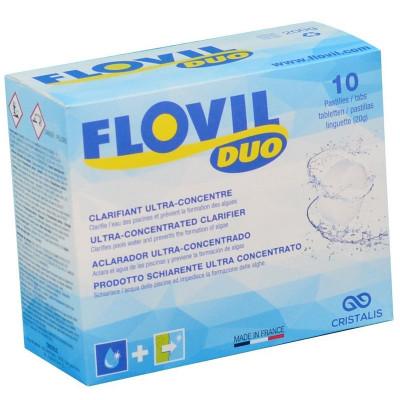 1 Flovil Duo clarifiant ultra-concentré (10 pastilles)