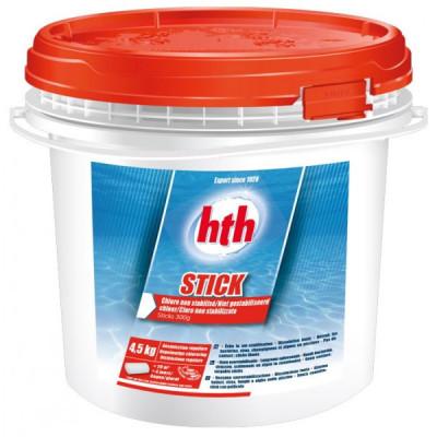1 Hth Sticks 300 gr - Chlore non stabilisé HTH Piscine