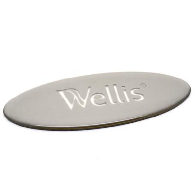1 Insert avec logo pour appui-tête Wellis Spa