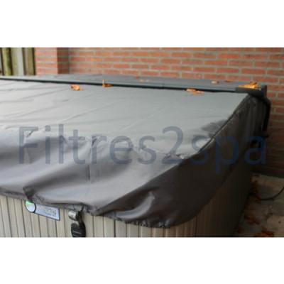 1 Bâche couverture spa (240 cm x 240 cm)