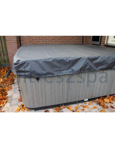1 Bâche couverture spa 225 cm x 225 cm