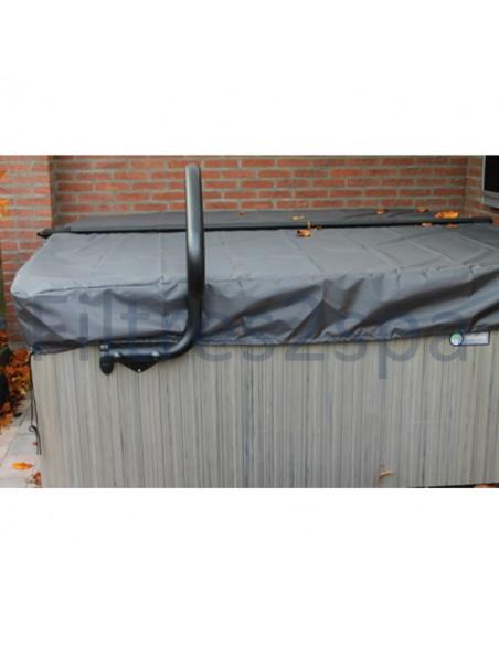 2 Bâche couverture spa 225 cm x 225 cm