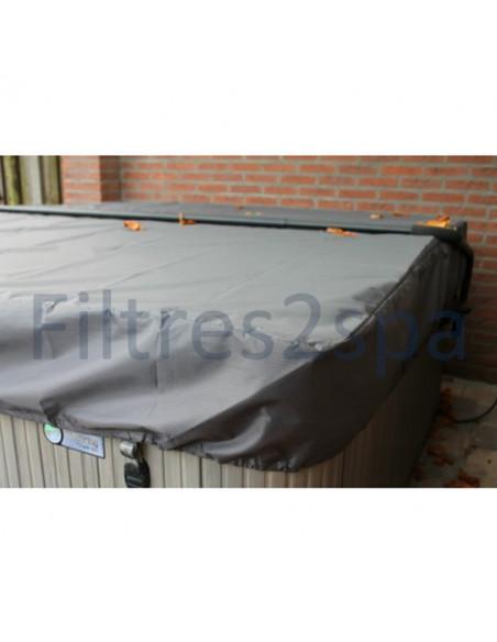3 Bâche couverture spa 225 cm x 225 cm