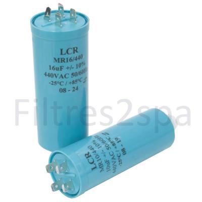 1 Condensateur pour pompe 08 µF