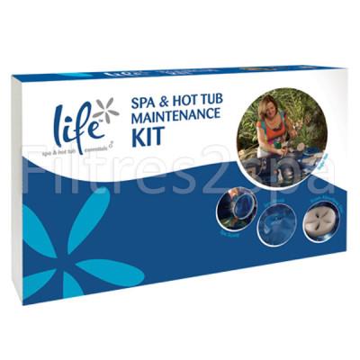 1 Kit dentretien pour spa LIFE