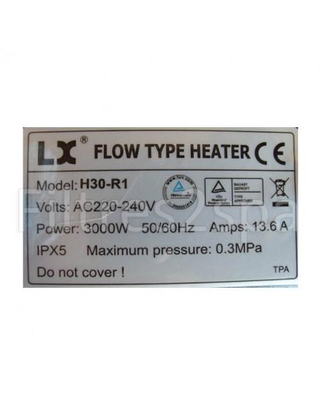 3 Réchauffeur H30-R1 Lx Whirlpool pour spa