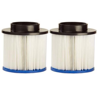 1 Aqua Spa : Pack de 2 filtres pour spa gonflable