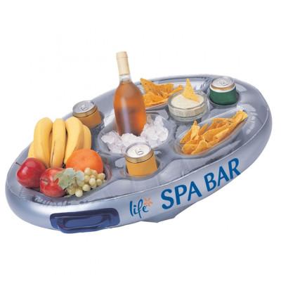 1 Bar gonflable flottant pour spa Life