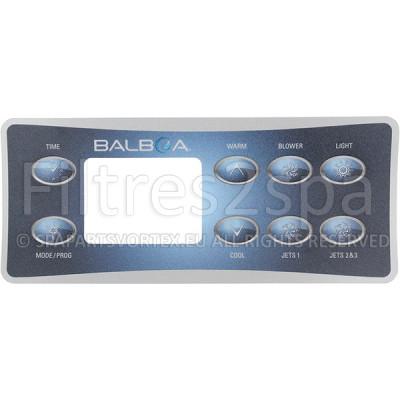 1 Revêtement clavier Balboa VL801D (3 Pompes avec Blower)