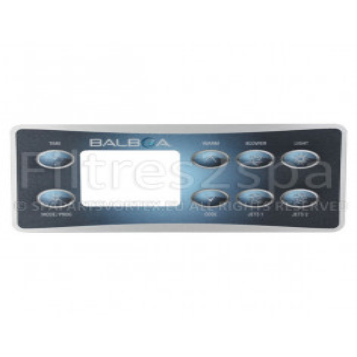 1 Revêtement clavier Balboa VL801D (2 Pompes avec Blower)