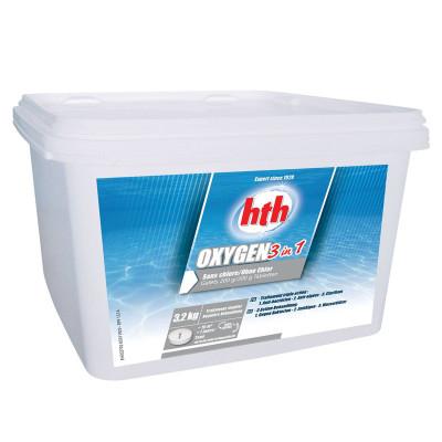 1 Hth Oxygen 3 en 1 Galets de 200g multifonction