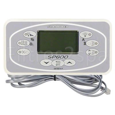 1 Clavier de commande Spa Power SP800 (rectangulaire)