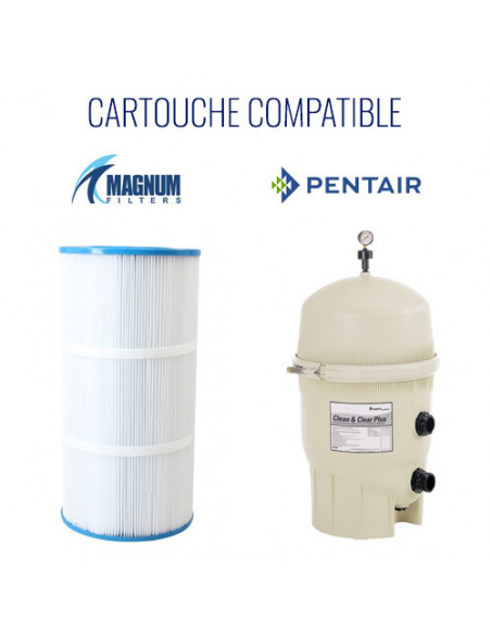 3 Cartouche filtre Pentair Clean and Clear Plus 240