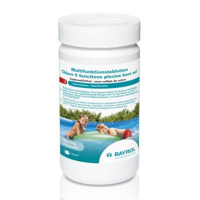 1 Chlore 5 fonctions pour piscine hors-sol 1 kg