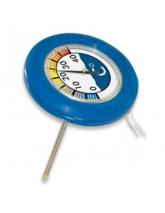 1 Thermometre rond flottant Poolstyle