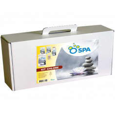 2 Coffret de traitement au chlore spa OvySpa